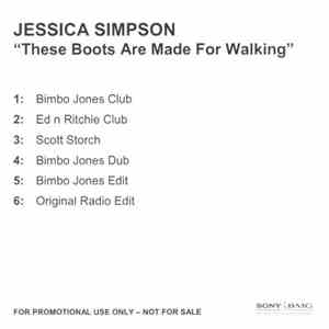 Jessica Simpson - These Boots Are Made For Walkin' album flac
