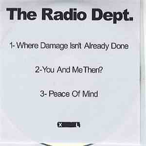 The Radio Dept. - Where Damage Isn't Already Done album flac